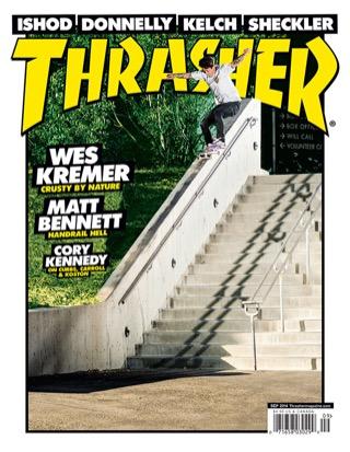 covers - Thrasher, September 2014