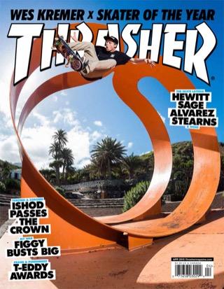 covers - Thrasher, April 2015