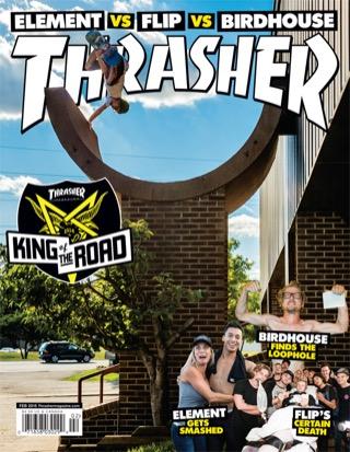 covers - Thrasher, February 2015