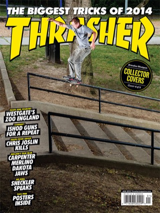 covers - Thrasher, January 2015