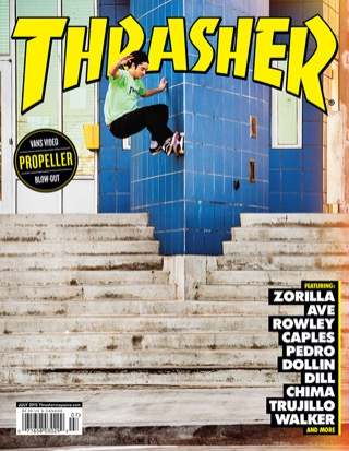 covers - Thrasher, July 2015