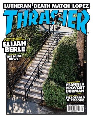 covers - Thrasher, June 2015