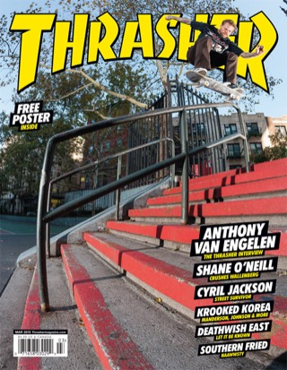 covers - Thrasher, March 2015