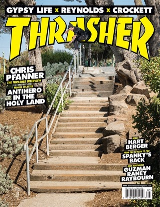 covers - Thrasher, May 2015