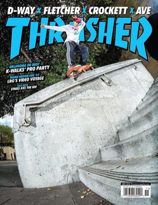 covers - Thrasher, November 2015