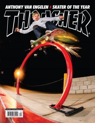 covers - Thrasher, April 2016