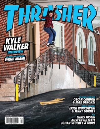 covers - Thrasher, August 2016