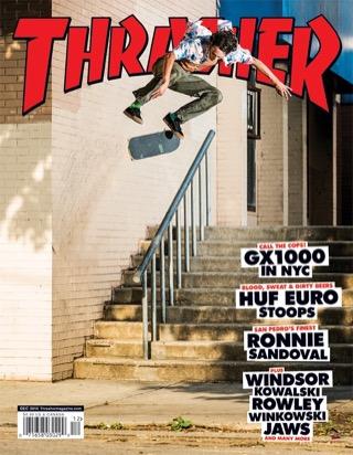 covers - Thrasher, December 2016