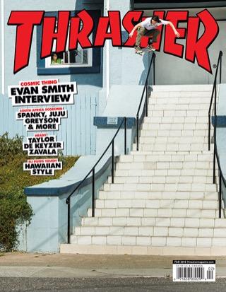 covers - Thrasher, February 2016
