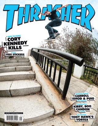 covers - Thrasher, January 2016