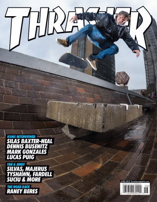 covers - Thrasher, June 2016