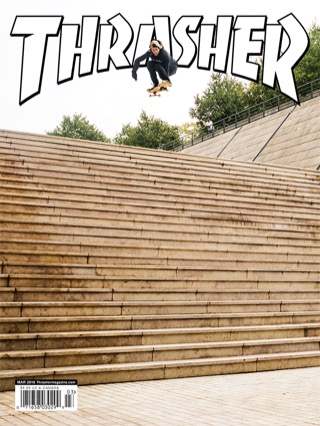 covers - Thrasher, March 2016