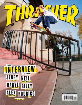 covers - Thrasher, May 2016