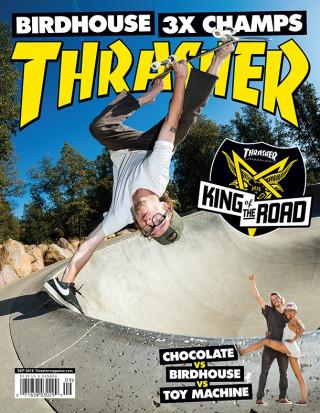 covers - Thrasher, September 2016