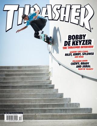 covers - Thrasher, December 2017
