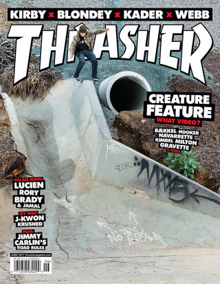 covers - Thrasher, June 2017