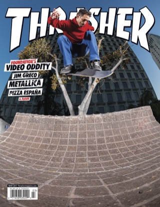 covers - Thrasher, March 2017
