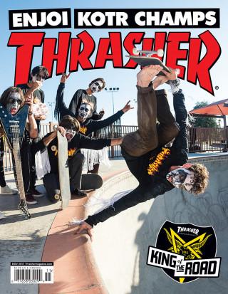 covers - Thrasher, November 2017