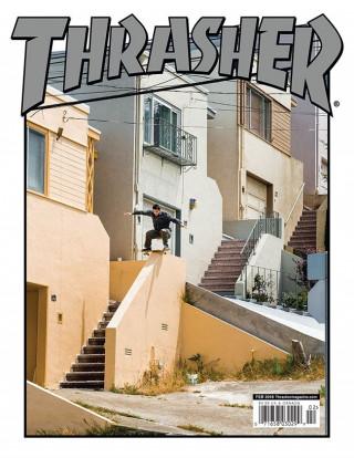 covers - Thrasher, February 2018