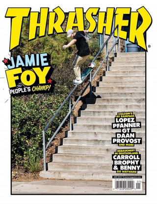 covers - Thrasher, January 2018