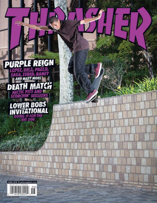 covers - Thrasher, June 2018