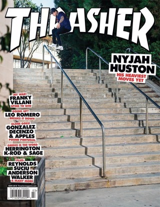 covers - Thrasher, March 2018