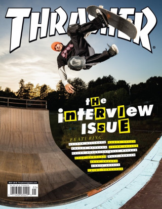 covers - Thrasher, May 2018