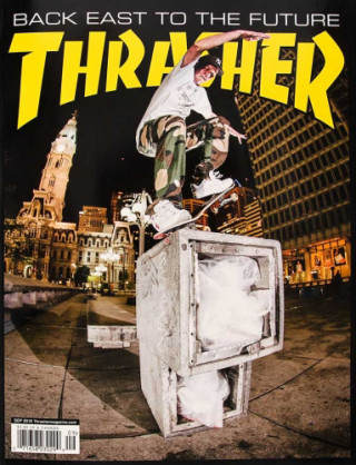 covers - Thrasher, September 2018