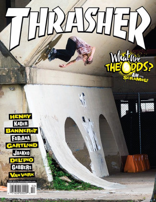 covers - Thrasher, February 2019