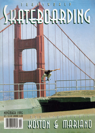 covers - Transworld, November 1995