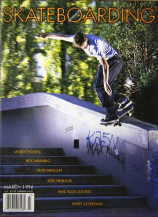 covers - Transworld, March 1996
