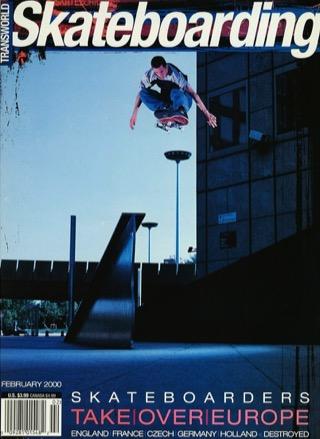 covers - Transworld, February 2000