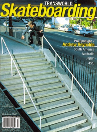 covers - Transworld, October 2000