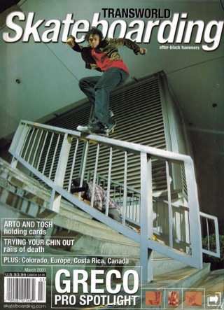 covers - Transworld, March 2001