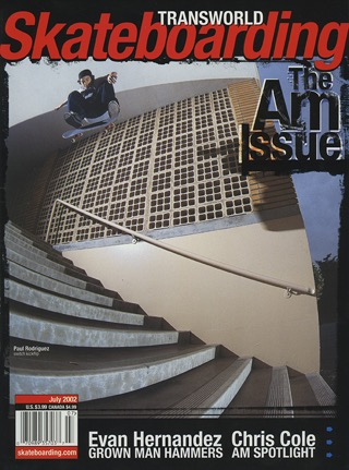 covers - Transworld, July 2002