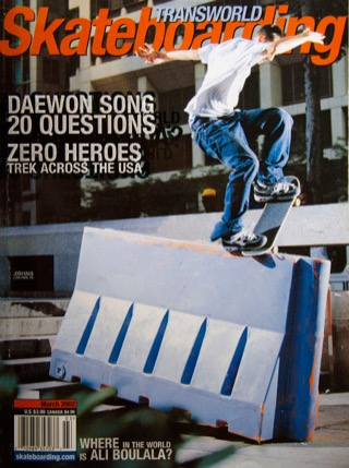covers - Transworld, March 2002