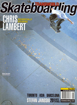 covers - Transworld, May 2002