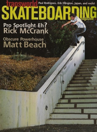 covers - Transworld, June 2003