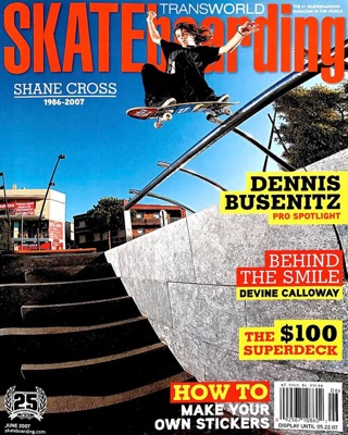 covers - Transworld, June 2007