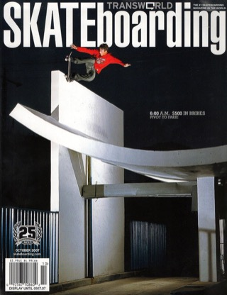 covers - Transworld, October 2007