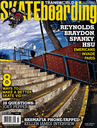 covers - Transworld, March 2008