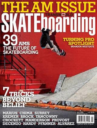 covers - Transworld, July 2009