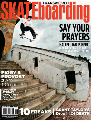 covers - Transworld, August 2010