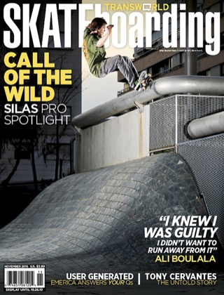 covers - Transworld, November 2010