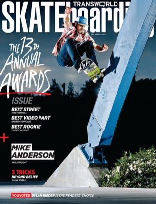 covers - Transworld, August 2011