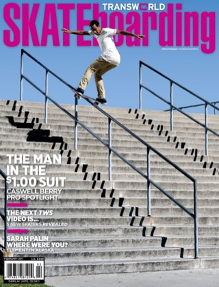 covers - Transworld, February 2011