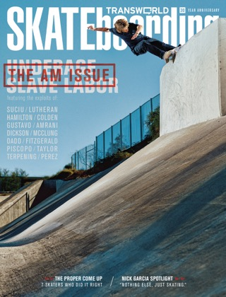 covers - Transworld, July 2012
