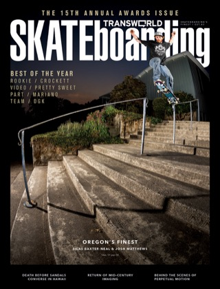 covers - Transworld, May 2013