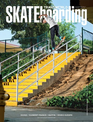 covers - Transworld, October 2013