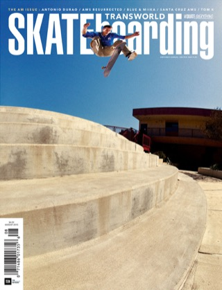 covers - Transworld, August 2015